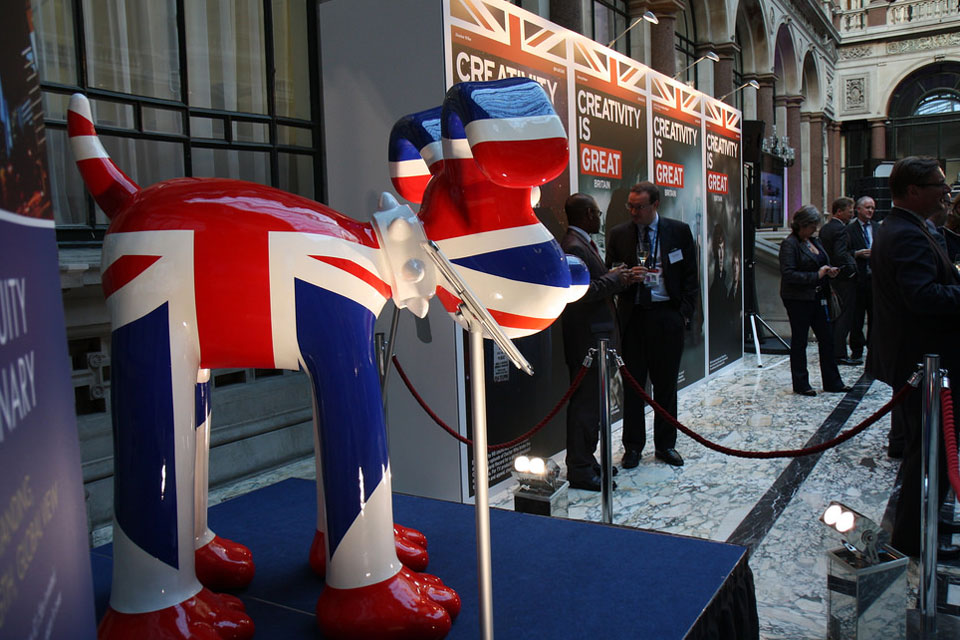 Creative Britain event at the Foreign Office in London, 14 May 2014.