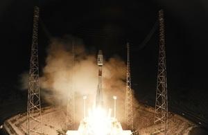 Gaia liftoff. Credit: ESA–S. Corvaja, 2013.