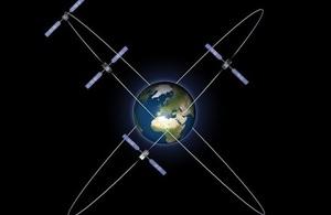 Galileo in IOV orbit. Credit: ESA - P. Carril