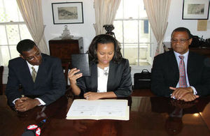 Cabinet was Chaired by Acting Governor Hon Anya Williams