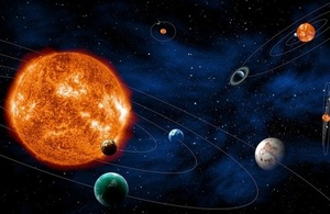 Searching for exoplanetary systems. Credit: ESA–C. Carreau.