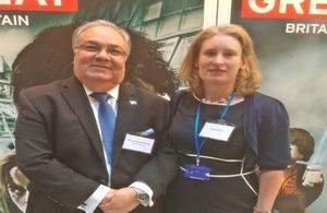 British and Honduras Ambassadors