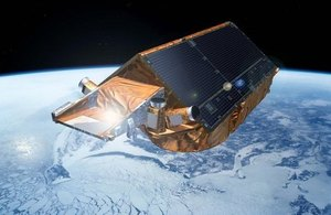 Cryosat satellite.