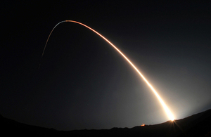 A Minotaur IV rocket launches a United States military space-based space surveillance satellite into orbit (library image) [Picture: Senior Airman Andrew Lee, US Air Force]