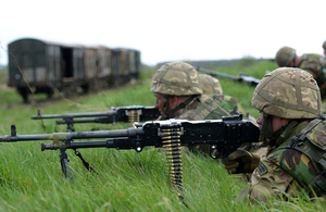 Soldiers train on Salisbury Plain (library image) [Picture: Leading Airman (Photographer) Jason Ballard, Crown copyright]