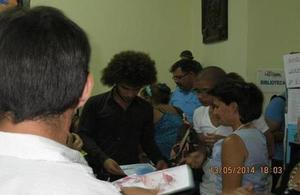 Students from the Centro Lasalle in Havana