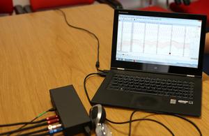 Polygraph laptop
