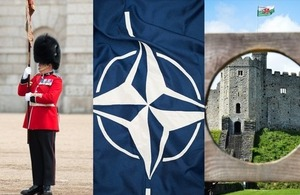 """100 days until 2014 NATO Summit in Wales"""