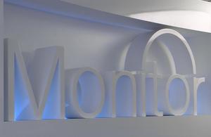 Monitor sign