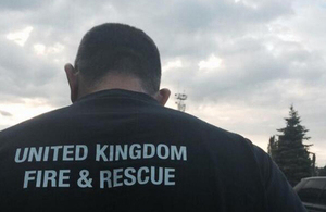 UK rescue team