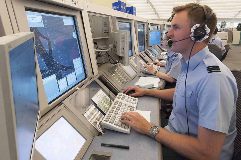 Royal Air Force air traffic controllers