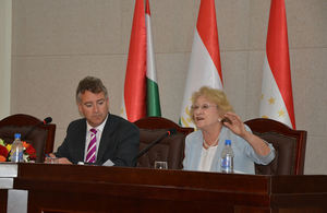 Baroness Vivien Stern and HM Ambassador Robin Ord-Smith