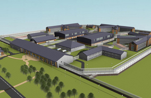 3D view of what north Wales prison will look like