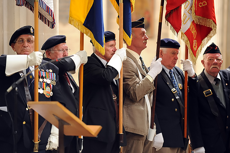 Veterans of the D-Day campaign