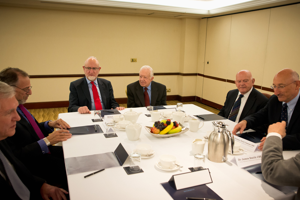 PM's Holocaust Commission meets President Jimmy Carter
