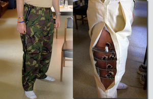Rackety's 'Richmond trousers' [Picture: Crown copyright]