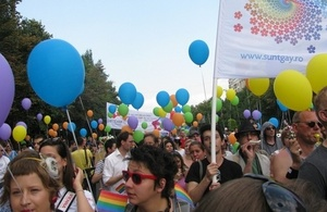 GayPride in Bucharest