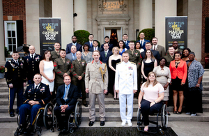 """UK and US Invictus Games """"100 Days to Go"""" Reception. Photo by Carrie Dorean"""