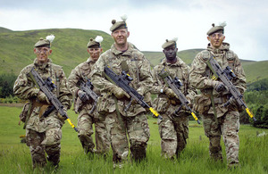 Soldiers from 2nd Battalion The Royal Regiment of Scotland [Picture: © Helen Pugh Photography]