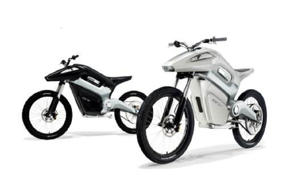 Intelligent Energy Hydrogen Motorbike