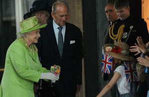 Her Majesty The Queen & His Royal Highness The Duke of Edinburgh