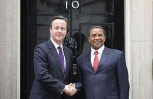 British Prime Minister & Tanzanian President
