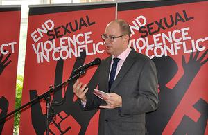 NE seksualiniam smurtui konfliktų zonose
