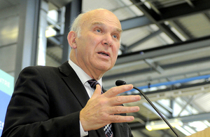 Business Secretary Vince Cable - BIS Flickr