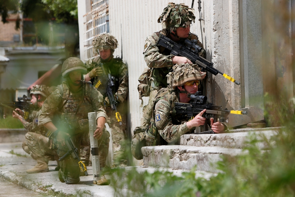 1SCOTS taking part in Operation Rehearsal in Bosnia and Herzegovina