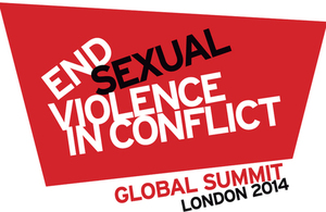 Global Summit to End Sexual Violence in Conflict - logo