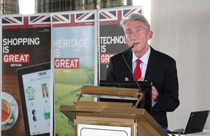 Mr Conrad Bird at the launch of the British Business Centre Croatia