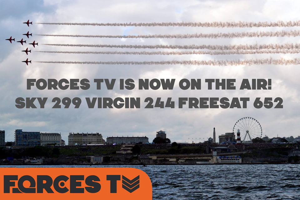 Forces TV is now on the air