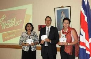 British Embassy hands over booklets on women's rights protection