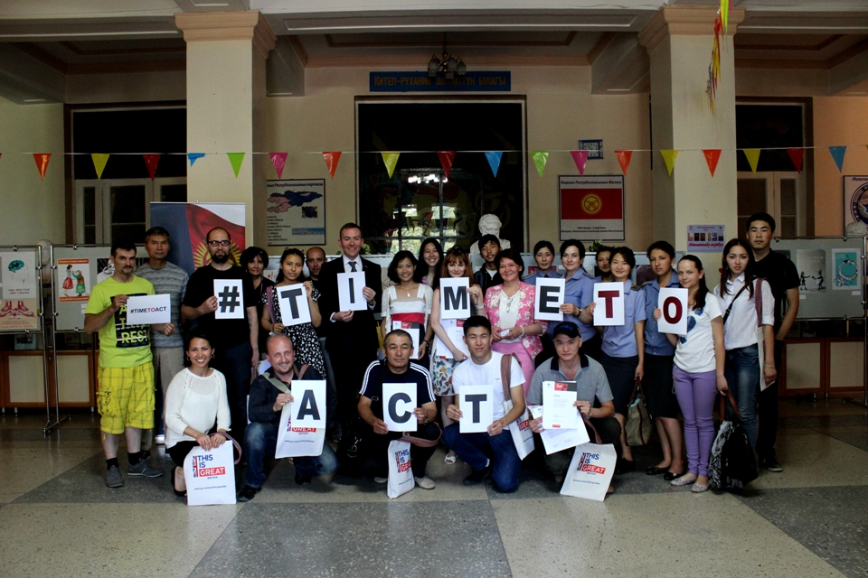 Contest participants and jury members call for #TimeToAct