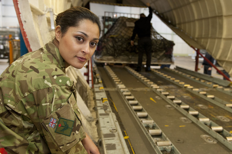 A Royal Air Force reservist