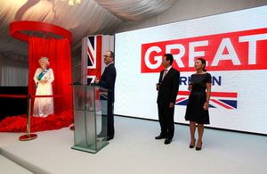 British Embassy in Beijing celebrates Her Majesty the Queen's Birthday