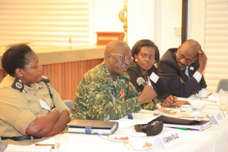 ESVC mini-summit in Kampala