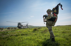 British Army reservists take part in Exercise Scatha Dare [Picture: Darryn Fisher, Crown copyright]