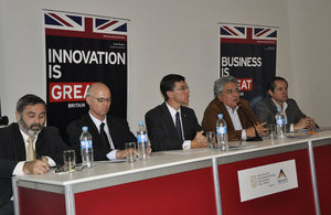Succesful Voluntary Principles plenary meeting at the British Embassy in Lima