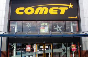 Comet store front
