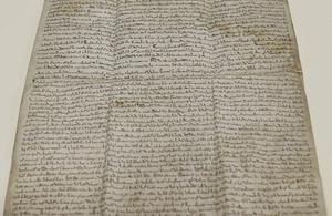 The Magna Carta.