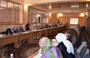 Women activists at training