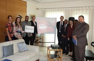 British Embassy Doha supports the Global ESVC Summit