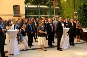 Celebrating birthday of Her Majesty The Queen in Zagreb