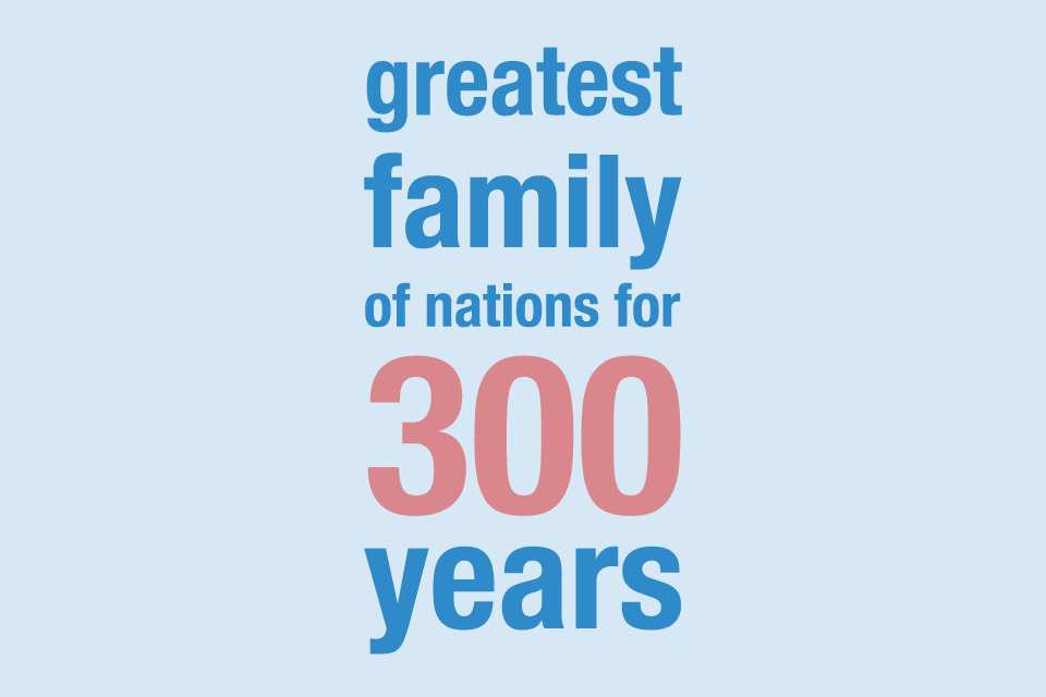 Greatest family of nations for 300 years