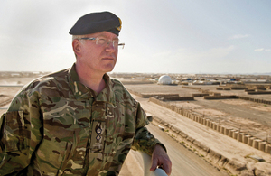 Lieutenant Colonel Laurence Quinn [Picture: Crown copyright]