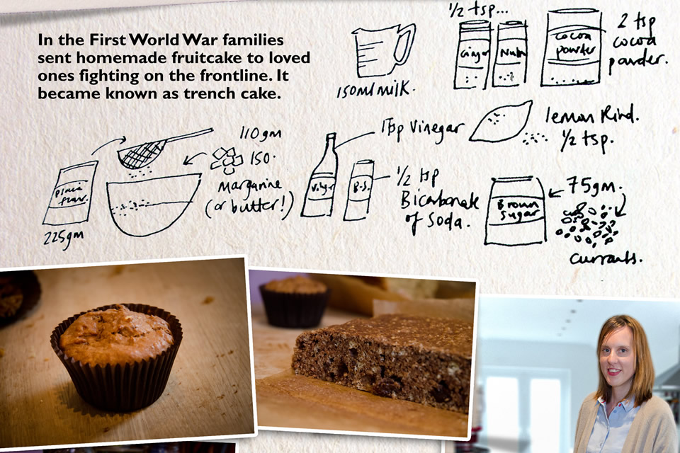 Frances Quinn's recipe card