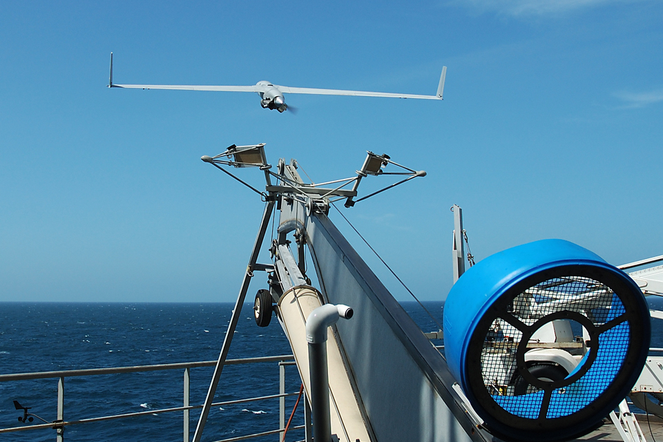 ScanEagle is launched