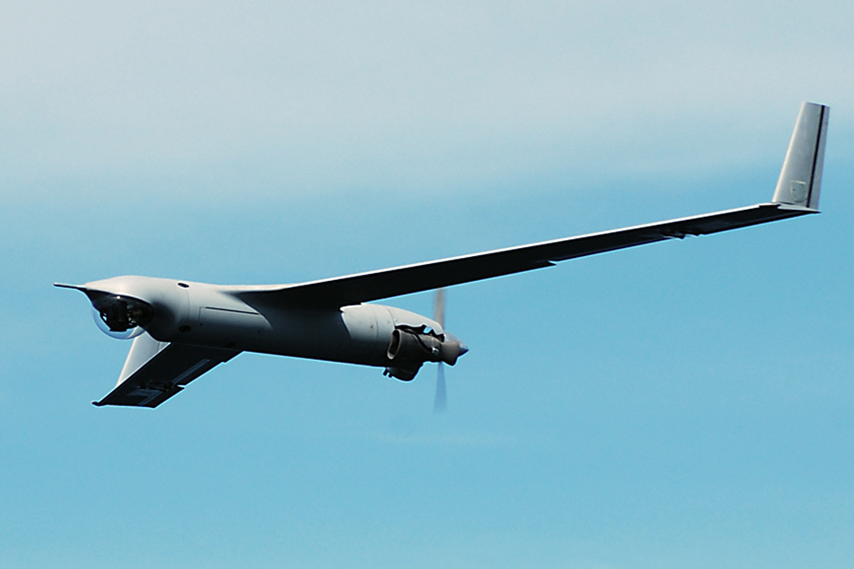ScanEagle in flight