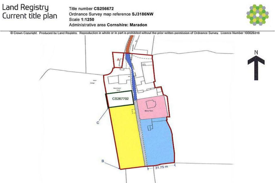 Land Registry plans: title plan (practice guide 40, supplement 5) - GOV.UK